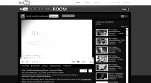youtube screeningroom